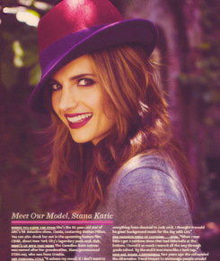 Stana Katic New Photoshoot - castle Photo