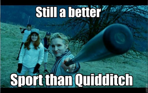 Still a better sport than Quidditch