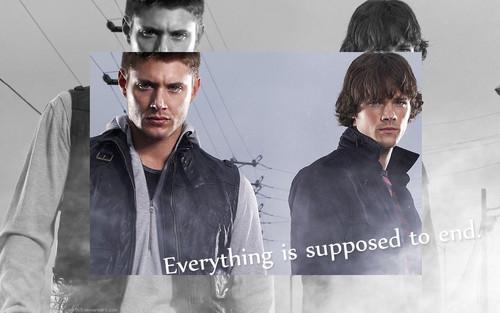 Supernatural fond d'écran 1