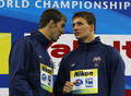 Swimming Day Thirteen - 14th FINA World Championships - michael-phelps-and-ryan-lochte photo