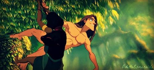 Tarzan Teaches Tzipporah