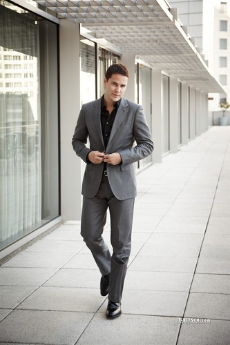 Taylor Kitsch wallpaper with a business suit, a suit, and a well dressed person called Taylor - Unknown Photoshoot