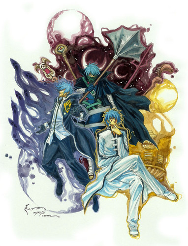The 3 face of Jellal :)