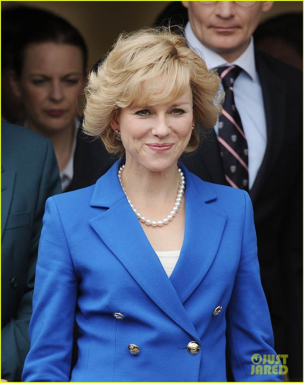 The 43-year-old actress plays the title character, Princess Diana