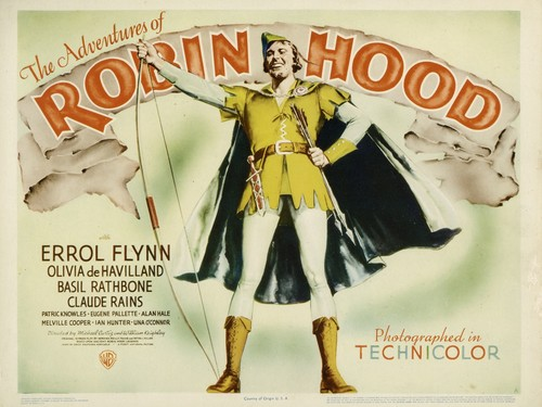 The Adventures of Robin kap movie poster 1938