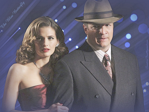 Caskett wallpaper with a business suit, a suit, and a three piece suit entitled The Blue Butterfly
