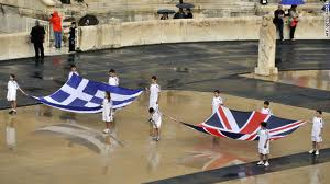 The Greek athlets in the Olympic Games-London 2012