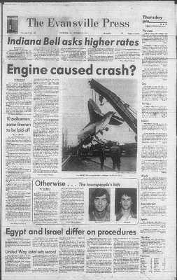 The universiteit of Evansville men's basketbal plane crash occurred on December 13, 1977