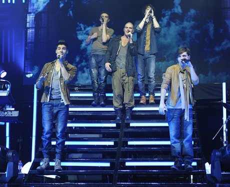 The Wanted Behind Bars Tour