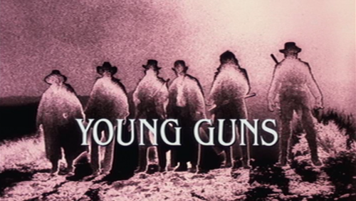 The Young Guns opening scene :)