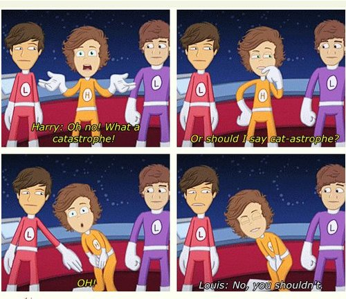 The adventurous adventures on one direction