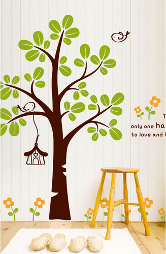 There Is Only One Happiness In Life To amor and Be Loved árbol muro Sticker