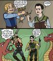 Thor & Loki