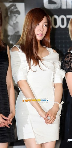 Tiffany @ S.M.A.R.T exibition opening ceremony