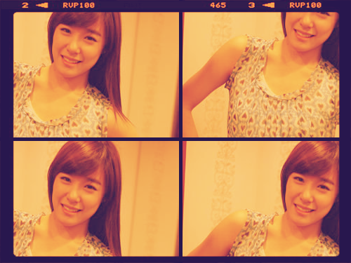 Tiffany new Selca for 5th Anniversary