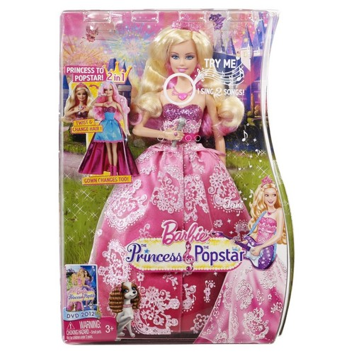 Sinema za Barbie karatasi la kupamba ukuta called Tori doll in the box