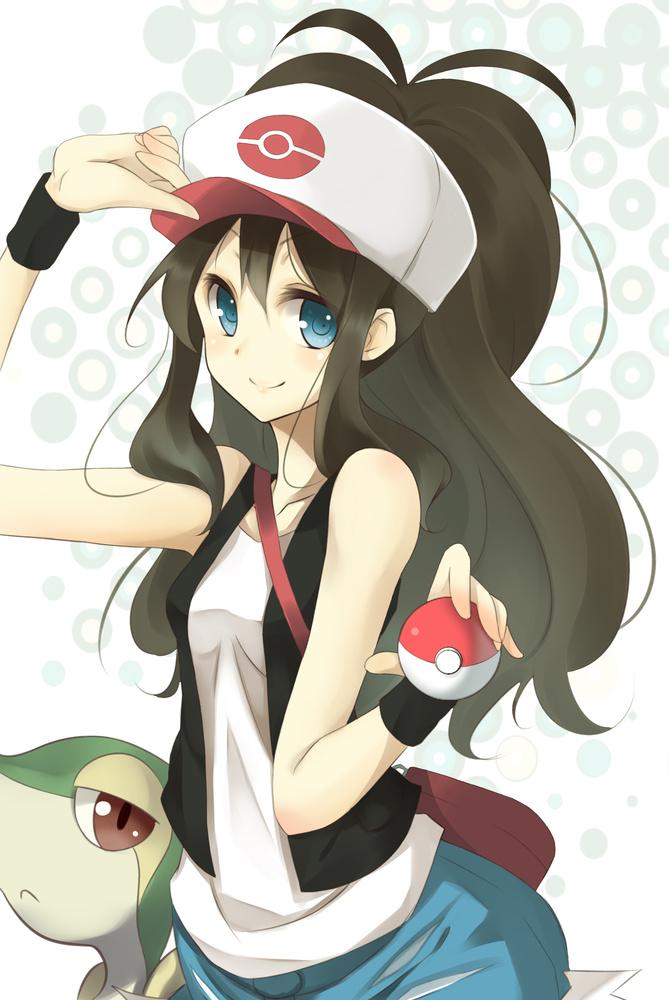 Touko - Pokémon Fan Art (31729581) - Fanpop
