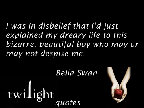 Twilight Series wallpaper called Twilight quotes 21-40