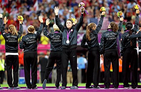 U.S. wins women's soccer dhahabu medal