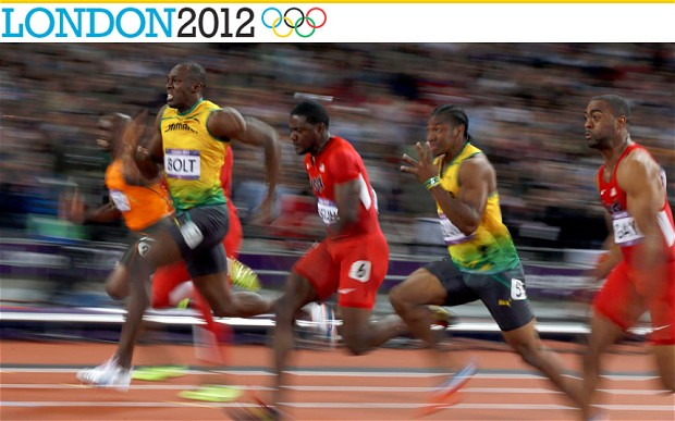 Usain Bolt wins 100m gold at London 2012 - The Olympics ...