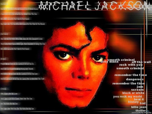 Michael Jackson wallpaper containing anime titled Wallpaper