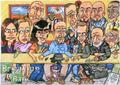 Walt's last supper - breaking-bad fan art