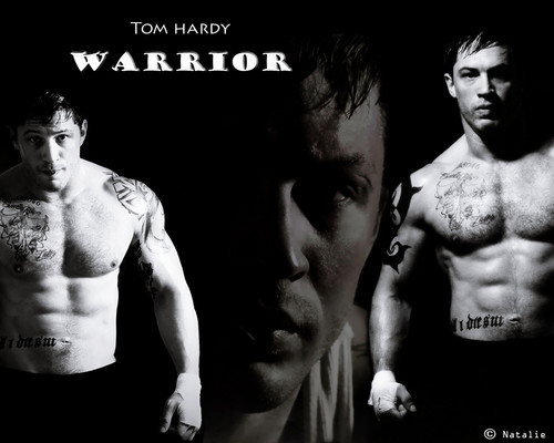 Tom Hardy wallpaper with a hunk, a six pack, and skin titled Warrior