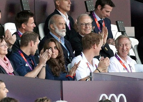 Will and Kate at the Olympics