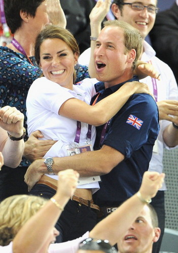 William&Catherine at the Olympics