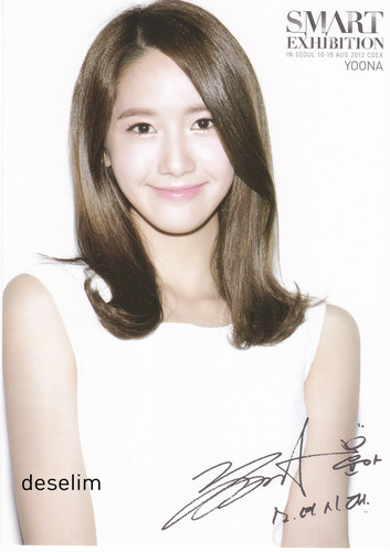 Yoona @ S.M.ART Exhibition PhotoCard - im-yoona Photo