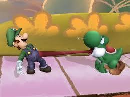 Yoshi vs. Luigi