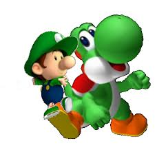 Yoshi with Baby Luigi
