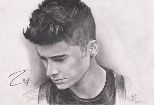 Zayn drawing
