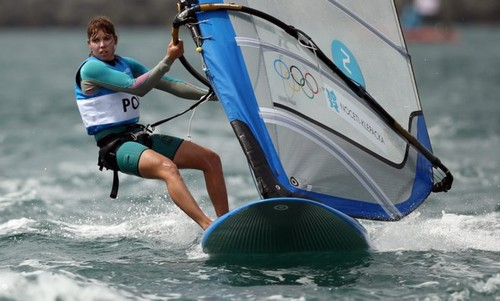 Zofia Noceti-Klepacka won the bronze medal!