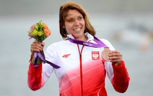 Zofia Noceti-Klepacka won the bronze medal!