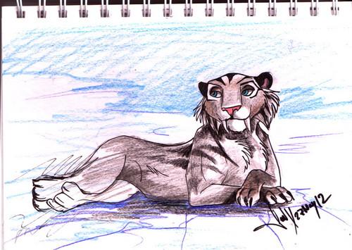 a drawing of shira