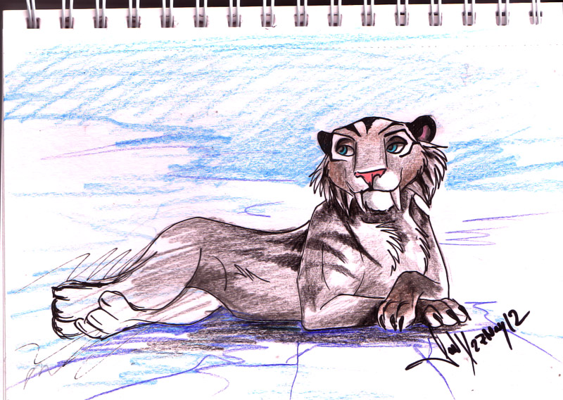 Ice Age Drawings Shira Ice Age a Drawing of
