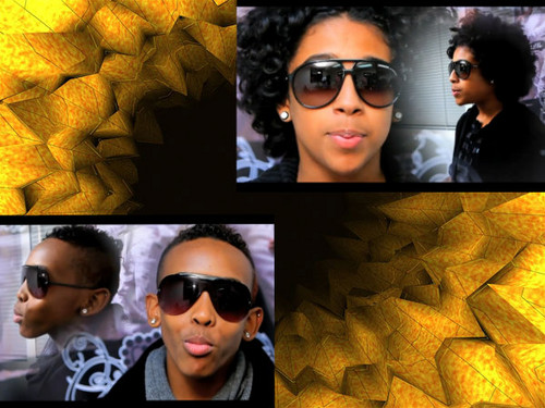 Mindless Behavior wallpaper containing sunglasses called alea