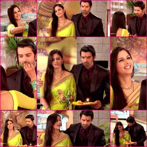Iss Pyar Ko Kya Naam Doon wallpaper titled arnav and payal