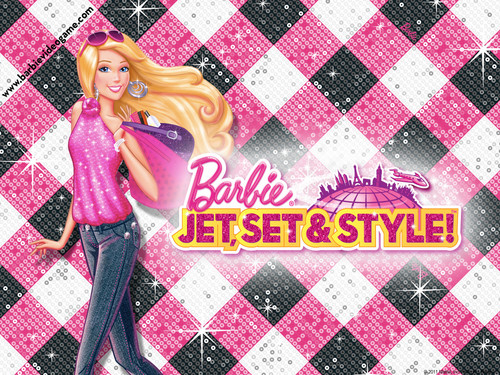 바비 인형 jet,set & style