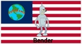 bender flag - futurama photo