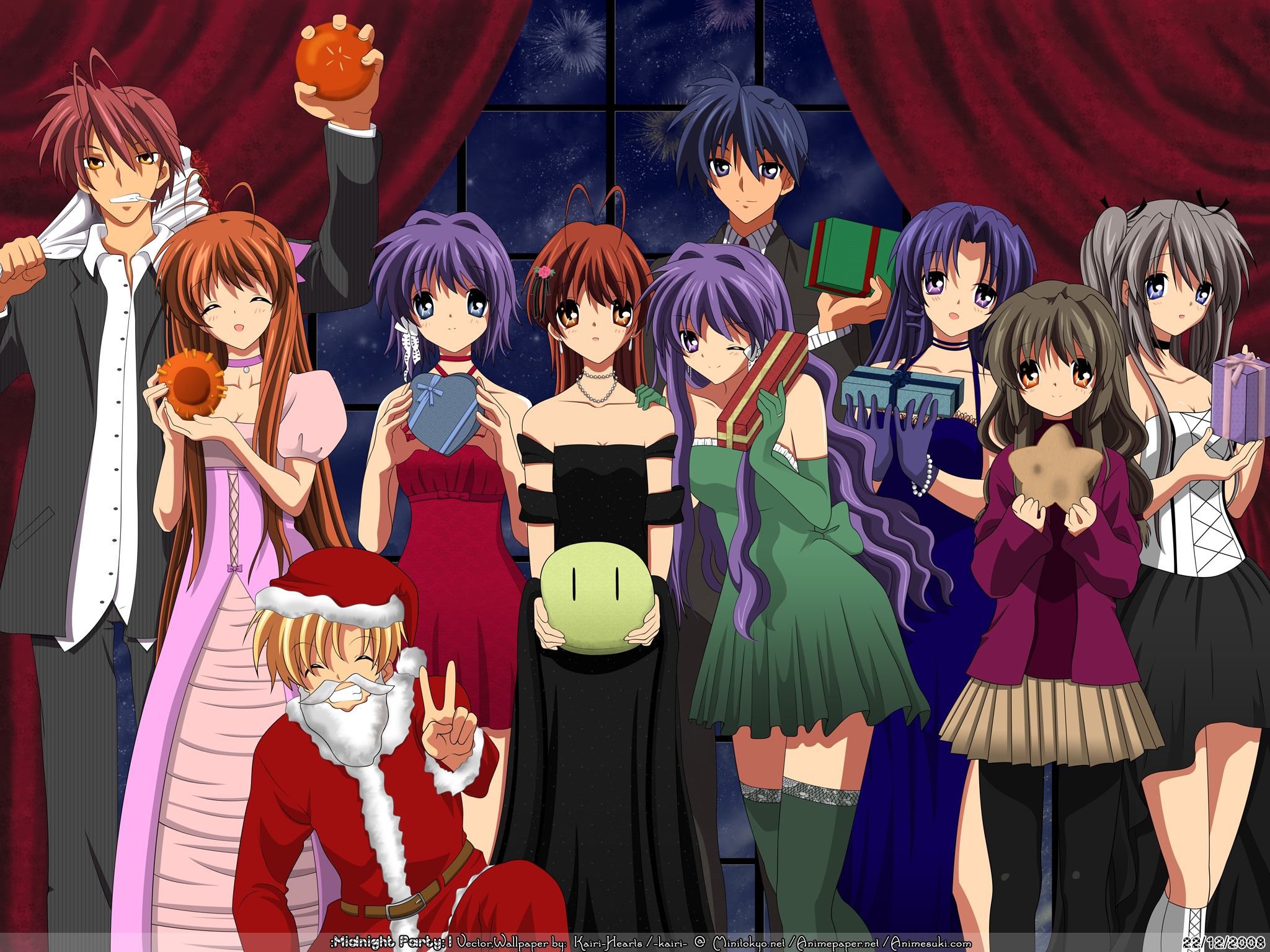 Christmas+Story+Characters+Names clannad!!! - Clannad Wallpaper ...