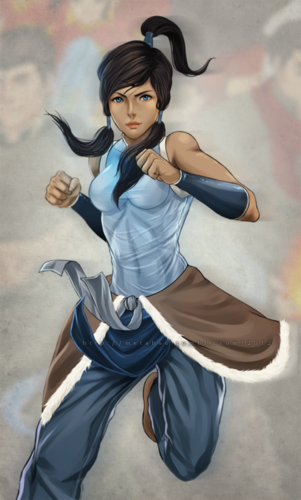 Avatar, La Légende de Korra fond d'écran entitled fan art !!!