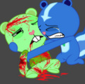 flippy petunia - happy-tree-friends photo