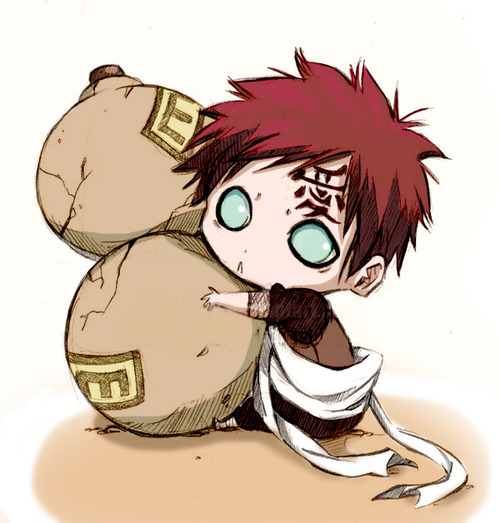 gaara chibi - purplepep4 Photo (31756039) - Fanpop Gaara And Naruto Chibi