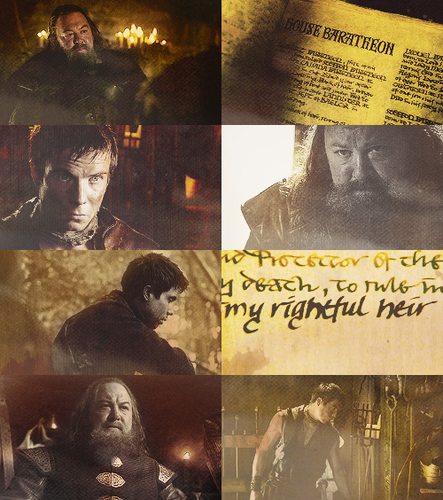 Robert Baratheon & Gendry