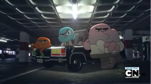 gumball,richard and darwin the remote