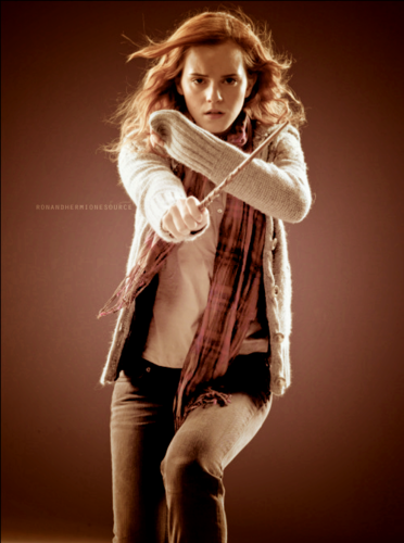 Hermione Granger wallpaper possibly containing a hip boot and an outerwear entitled hermione