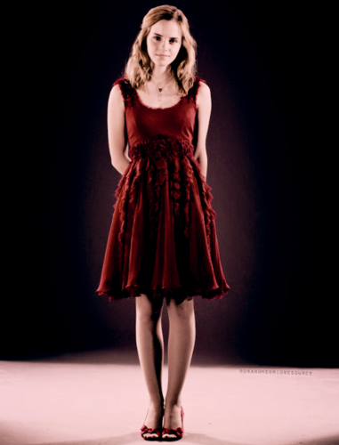 hermione granger wallpaper probably containing a koktil, koktail dress, a frock, and a dress titled hermione