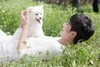 hyun with him dog.kakaka